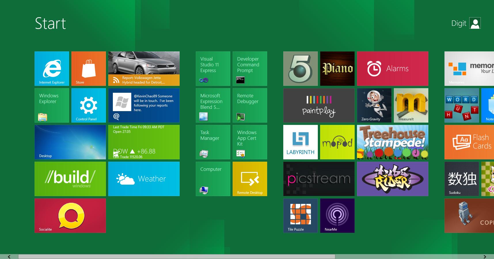 La interfaz de Windows 8 busca crear una experiencia común entre toda la gama de dispositivos de Microsoft